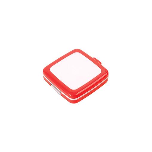 Флеш-карта USB 2.0 на 4 Gb кадратная, красный фото