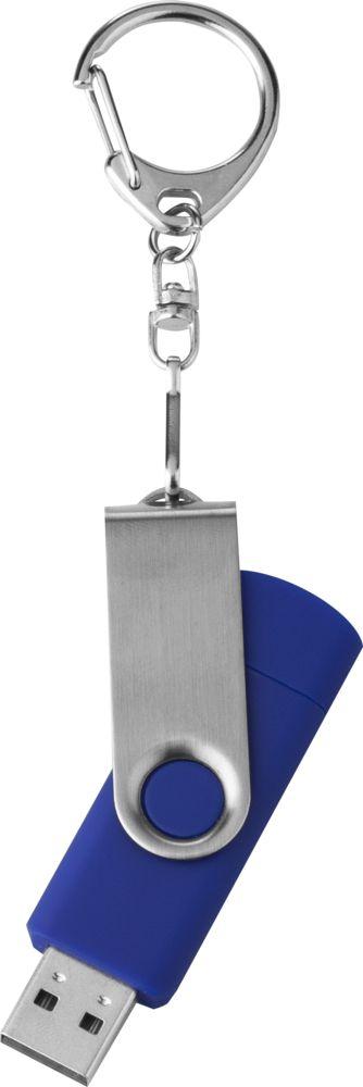 Флешка Double Twist 16 Гб синяя, синий фото