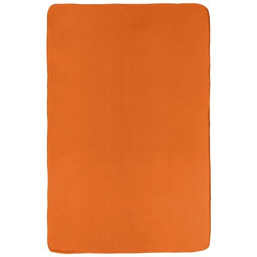 Флисовый плед Warm&Peace, оранжевый фото