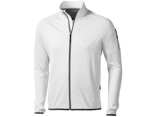 Куртка флисовая Mani мужская, белый фото