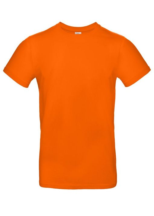 Футболка E190 оранжевая фото