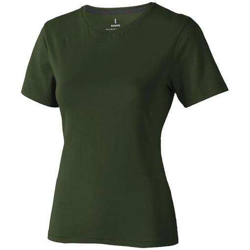 "Футболка ""Nanaimo"" женская, армейский зеленый фото"