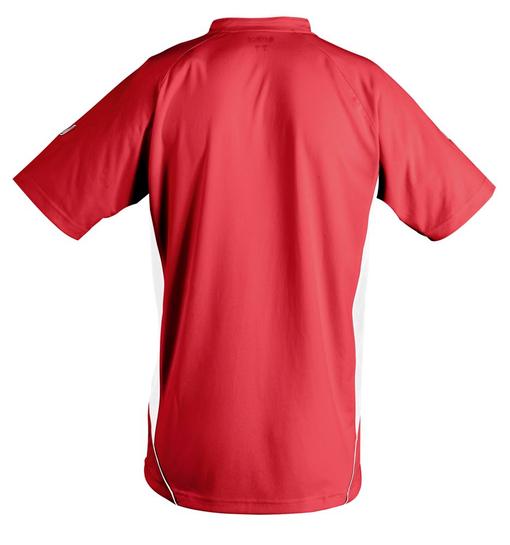 Футболка спортивная MARACANA 140, красная с белым фото