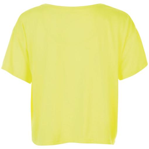 Футболка женская MAEVA, желтый неон фото
