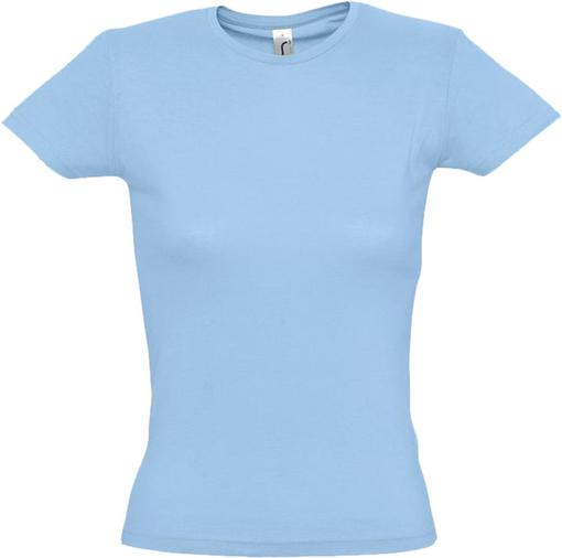 Футболка женская MISS 150, голубая фото
