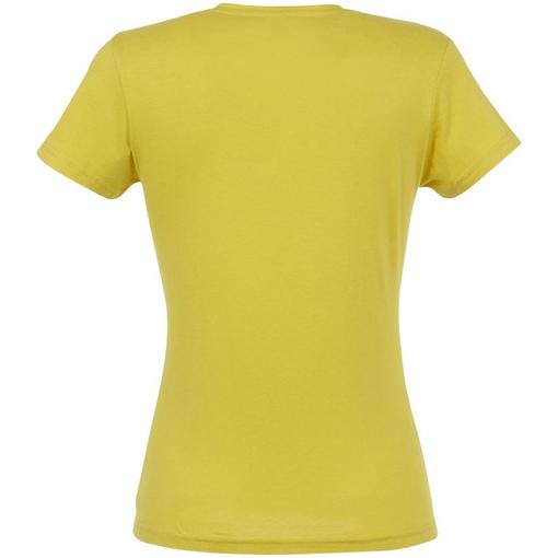 Футболка женская MISS 150, желтая (горчичная) фото