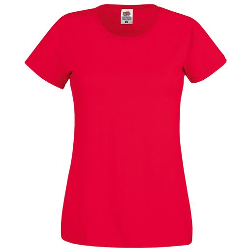 Футболка женская Original T, красный фото