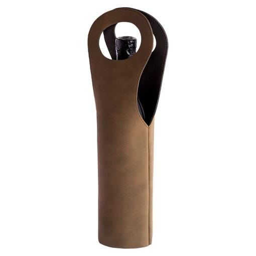 Футляр для вина Buonasera, коричневый фото