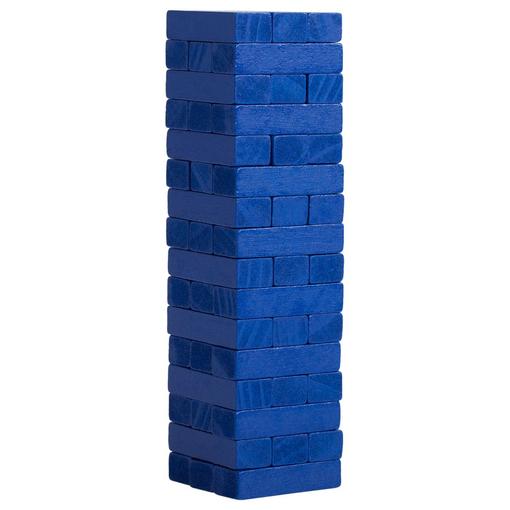 Игра Деревянная башня мини, синяя фото