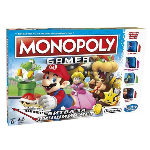 Игра настольная «Монополия. Геймер», разноцветная фото