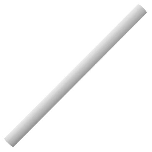 Карандаш простой Carpenter, белый фото