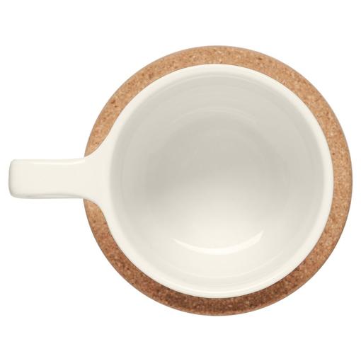 Чайная пара Riposo, белая фото