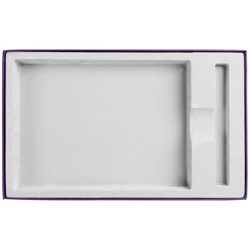 Коробка Adviser под ежедневник, ручку, фиолетовая фото
