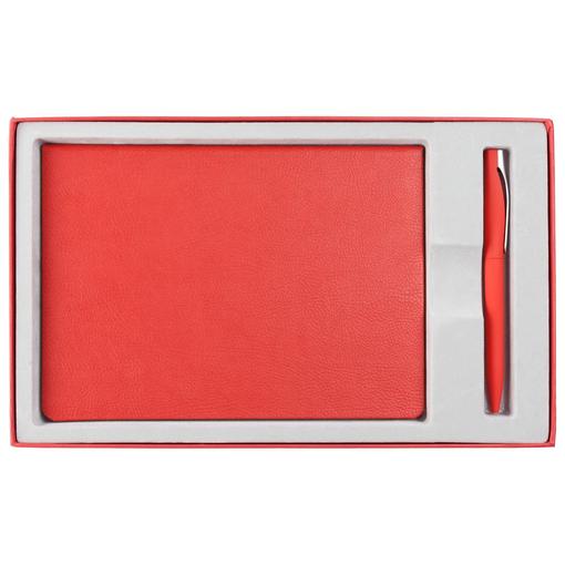 Коробка Adviser под ежедневник, ручку, красная фото