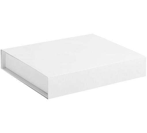 Коробка Duo под ежедневник и ручку, белая фото