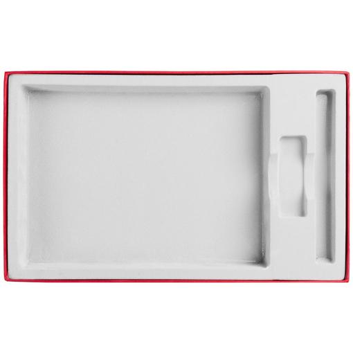 Коробка In Form под ежедневник, флешку, ручку, красная фото