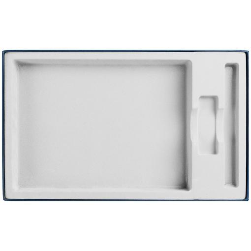 Коробка In Form под ежедневник, флешку, ручку, синяя фото