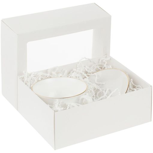 Коробка с окном InSight, белая фото