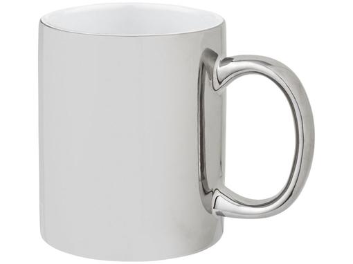 Кружка Gleam, серебряная фото