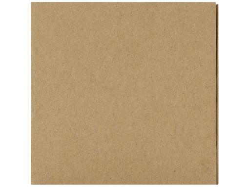 Куб настольный для записей Брик, коричневый фото