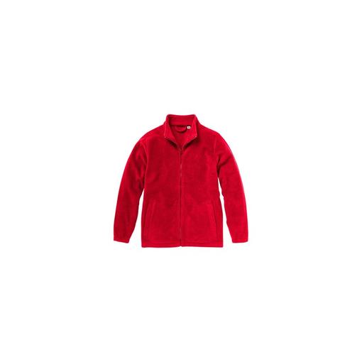 Куртка флисовая Dakota на молнии мужская, красный фото