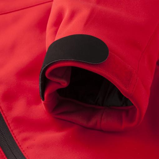 Куртка софтшелл женская Skeleton Lady, красная фото