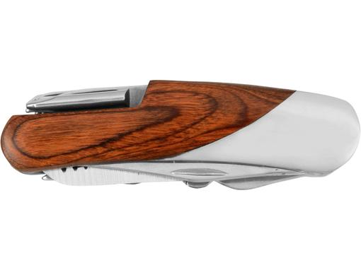Многофункциональный нож Vibal, серый, бежевый фото