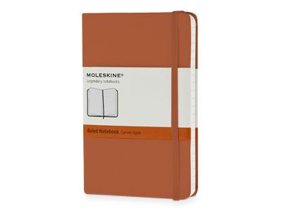Moleskine Classic Записная книжка в линейку, Pocket 9x14 см, оранжевый коралл фото