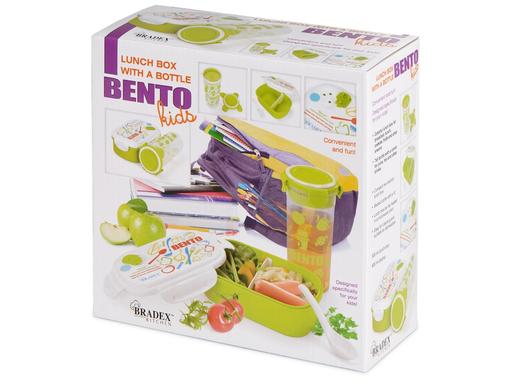 Набор детский Bento Kids: ланч-бокс, бутылка фото