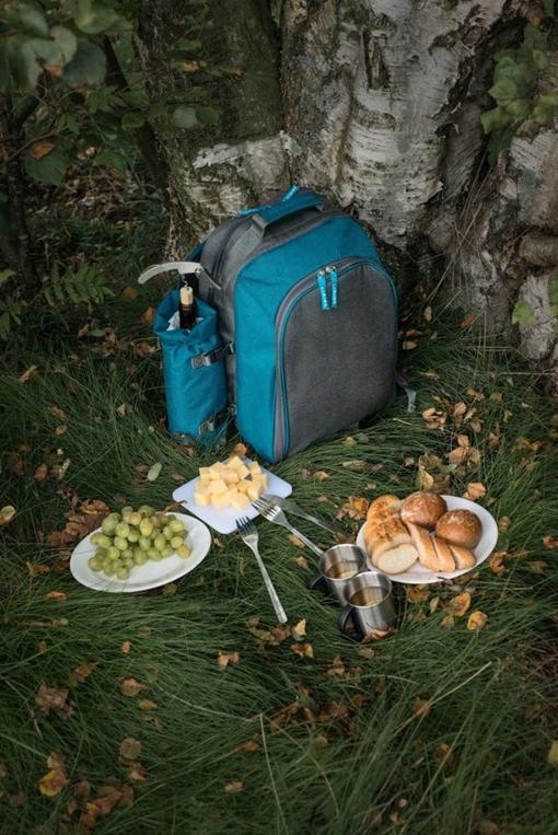 Набор для пикника Fridag на 2 персоны, бирюзовый фото
