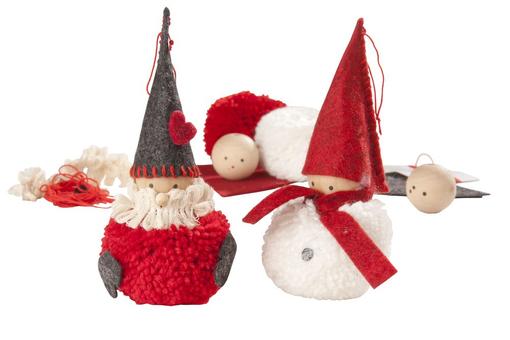 Набор для творчества Дед Мороз и Снеговик фото