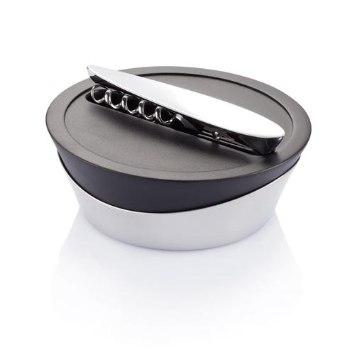 Набор для вина Airo Tech, черный, серебряный/серый фото