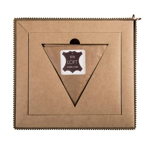 Набор подарочный LOFT: портмоне и чехол для наушников, коричневый фото