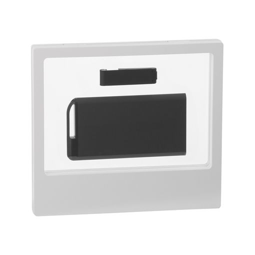 """Набор зарядник """"Theta"""" 6000 mAh + флеш-карта """"Case"""" 8Гб  в футляре, покрытие soft touch фото"""