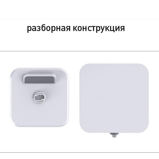 Подставка для смартфона Powerfolio с беспроводным зарядным устройством, белая фото
