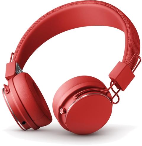 Наушники беспроводные URBANEARS Plattan 2 Bluetooth, красные фото