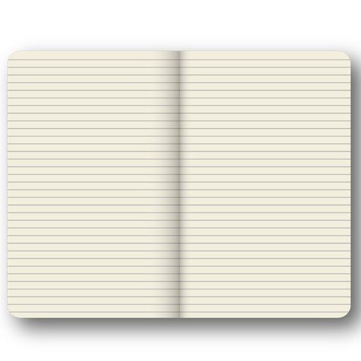 Записная книга с кармашком Portobello RIGEL, линейка, 9*14см, синий фото