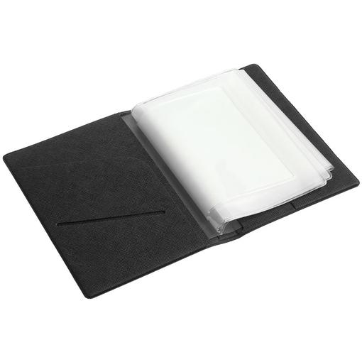 Обложка для автодокументов Devon, черная фото