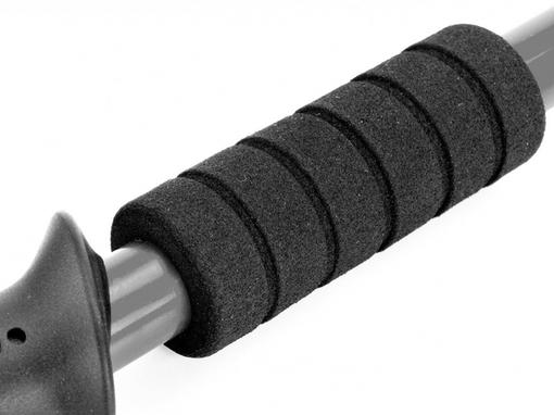 Палки телескопические для скандинавской ходьбы Nordic Style, черные фото