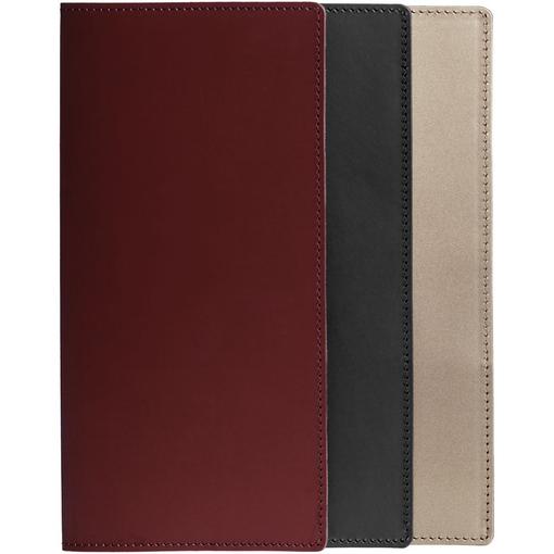 Папка для счета Satiness, коричневая фото