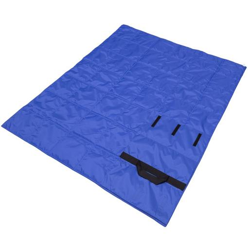 Плед стеганый Camper, синий фото
