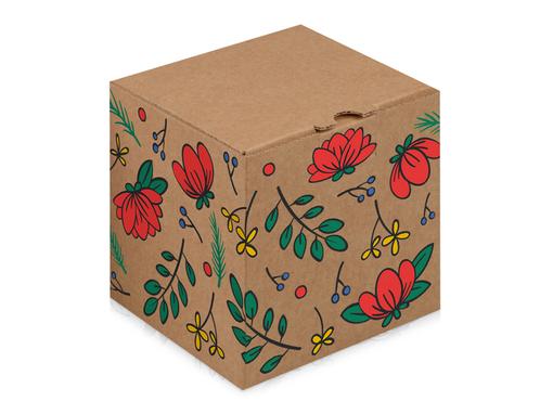 Подарочная коробка Adenium, коричневый фото