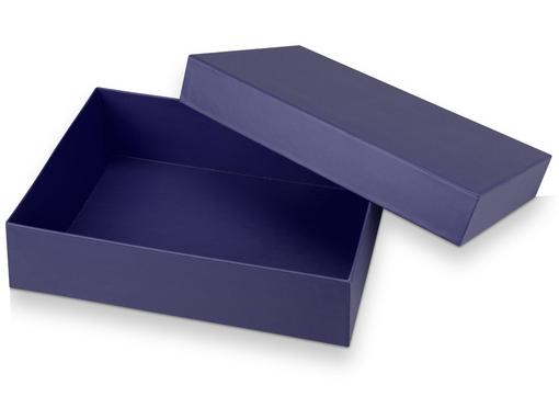 Подарочная коробка Corners большая, синий фото
