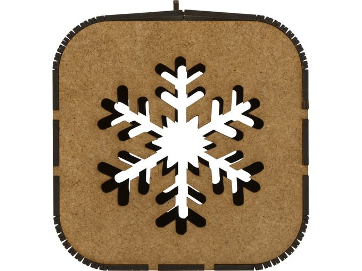 Подарочная коробка «Снежинка» фото