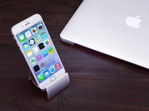 Подставка под мобильный телефон Модерн, серый фото