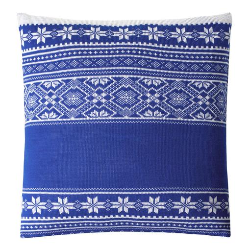 Подушка Скандик, синяя фото
