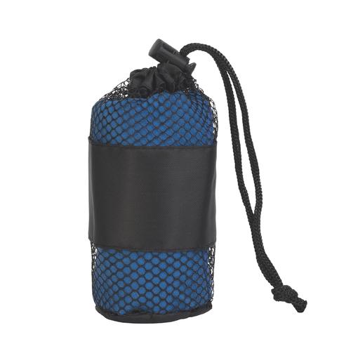 Полотенце для фитнеса Тонус, синее фото