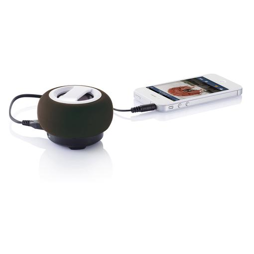 Портативная bluetooth-колонка для телефона, черный фото