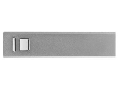 Портативное зарядное устройство, 3000 mAh, серебристый фото