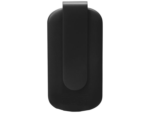 Портативное зарядное устройство Pin с клипом, 4000 mAh, чёрное фото